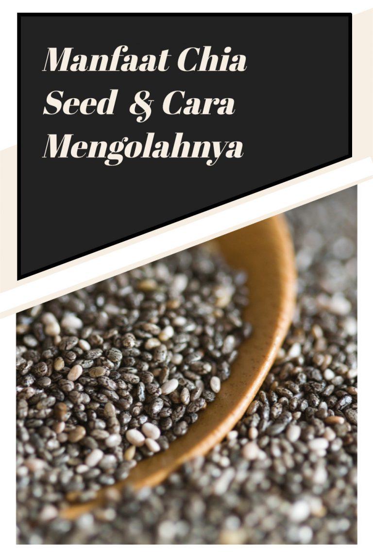 Manfaat Chia Seed  & Cara Mengolahnya