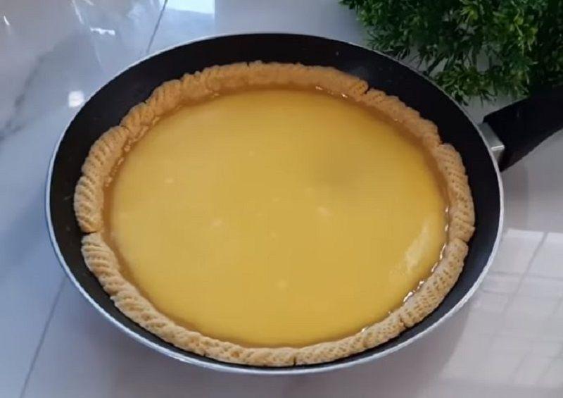 Pie Susu tanpa Oven