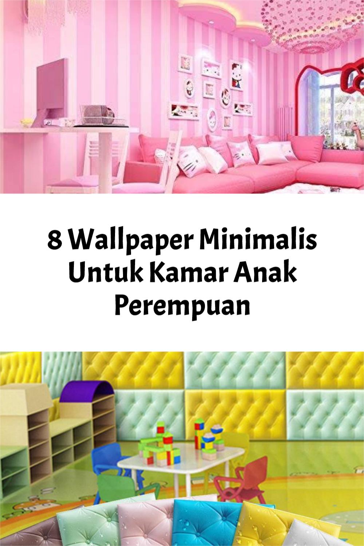 Wallpaper Minimalis Untuk Kamar Anak Perempuan